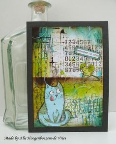 Tim Holtz Crazy Birds make me crazy too...Art Journal and a skinny | Alie Hoogenboezem-de Vries | Bloglovin'
