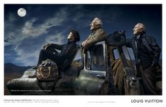 Buzz Aldrin, Jim Lovell, and Sally Ride, for the Louis Vuitton Core Values ad campaign, shot by Annie Leibovitz. Annie Leibovitz Photos, Anne Leibovitz, Annie Leibovitz Photography, Jim Lovell, Yoko Ono, Viviane Sassen, Buzz Aldrin, Louis Vuitton, Michael Phelps