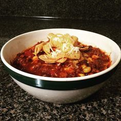 Meal planning for the rest of the week?? This super easy crockpot chili is on the blog tonight!  I love chili topped with cheese and Fritos!!! Details on Sizzle, Sparkle & Sass! ✨❤️ #ontheblog #blogged #blog #recipes #yumyums