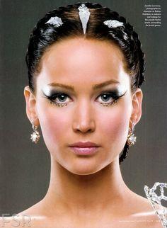 'Catching Fire' Vanity Fair portraits - Katniss