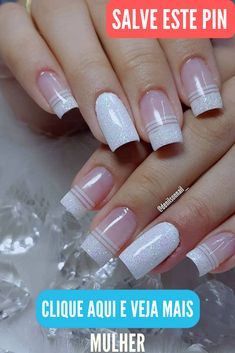What manicure for what kind of nails? - My Nails French Manicure Nails, French Nails, Manicure Pedicure, French Pedicure, Pedicure Ideas, Nail Nail, Fun Nails, Pretty Nails, Milky Nails