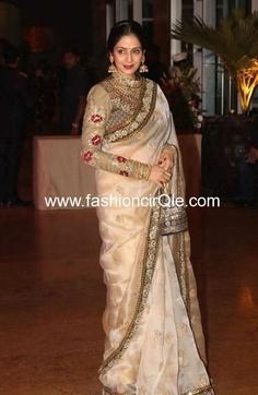 News : Sridevi to attend Sabyasachis show at Delhi Couture Week Sridevi Sabyasachi Gauri Shinde English Vinglish