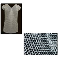"""Chainmail Sleeveless Shirt 50"""" Chest Butted 29-AB2781 - Buy from By The Sword, Inc."""