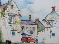 The Watercolour Log: Charles Reid at Stow - 5 - 11 May 2013