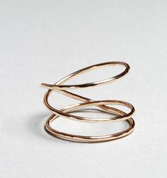 Gold Nest Ring