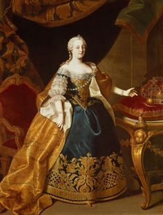 The Empress Maria Theresia,mother of Marie-Antoinette European History, Women In History, American History, Asian History, Tudor History, British History, Marie Antoinette, Catalina La Grande, Maria Teresa