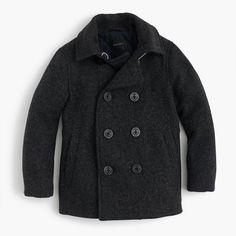 (^o^) Kiddo (^o^) Fashion - Boys' wool peacoat with Thinsulate® - J. Crew
