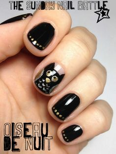 Animals by Mouchtique // The sunday Nail Battle