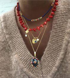 Hippie Jewelry, Cute Jewelry, Diy Jewelry, Beaded Jewelry, Jewelry Accessories, Ring Necklace, Earrings, Accesorios Casual, Piercings