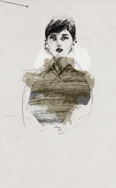 Portrait The Dreamers, Portrait, Illustration, Artist, Artwork, Beautiful, Design, Watercolor Painting, Work Of Art
