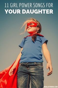Your daughter will love this family-friendly dance party playlist! The inspiring lyrics for girls (and women) will encourage her to be brave, confident, and strong in a world where girl power isn't always a popular idea.