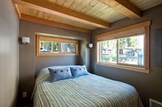 Love the interior of this tiny house--doesn't really feel tiny at all! Very bright and airy - Unit 77 by West Coast Homes