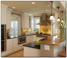 21 Cool Small Kitchen Design Ideas | Kitchen design, Kitchens and ...