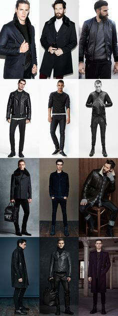Men's All-Black Jon Snow-Inspired Outfit Lookbook
