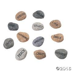 Inspirational Rocks - OrientalTrading.com