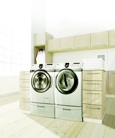 Did you put your laundry room through the spin cycle? Follow us then upload a picture of your laundry room using #SamsungSpinCycle and you could win a new, Samsung top load washer and dryer.