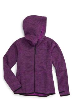 Zella Girl Soft Tech Fleece Jacket (Little Girls & Big Girls)
