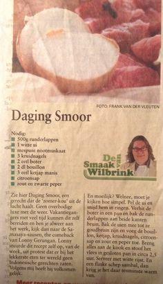 Daging smoor