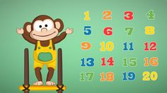 A jugar y contar hasta 20 como lo hace Salomón en el video #CancionesInfantiles…