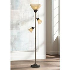 Lighting on Pinterest   Floor lamps, Glass shades and Torchiere floor
