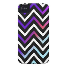 Colorful Modern Chevron Iphone 4 Cover by OrganicSaturation