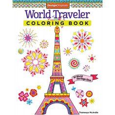 World Traveler Coloring Book