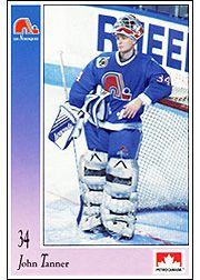 quebec nordiques goaltenders - Google Search Hockey Goalie, Ice Hockey, Hockey Cards, Baseball Cards, Quebec Nordiques, Nhl, Sports, Google Search, Ice