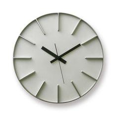 edge clock / アルミニウム (AZ-0115 AL) | DESIGN OBJECTS,AZUMI | | TAKATA Lemnos online shop