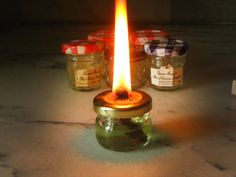 Now I know what to do with all those adorable jelly jars I have been collecting just because I liked the shape. Pocket Sized Lantern - DIY - off grid survival lighting -