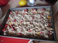 Jednoduchý hrnčekový ovocný koláč s tvarohom a posýpkou (fotorecept) - obrázok 6 Oatmeal, Breakfast, Food, The Oatmeal, Morning Coffee, Rolled Oats, Essen, Meals, Yemek