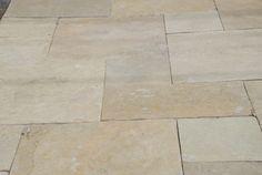 "Slate not limestone French Vanilla - Pattern Pave Slate 1¼"" DMCStone Product 1"