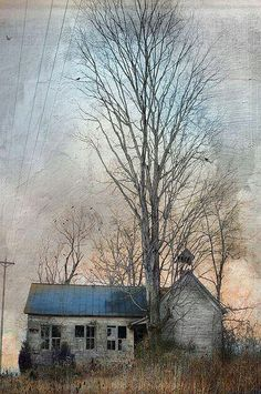 Jamie Heiden - Another collaboration with Vitate. Old Buildings, Abandoned Buildings, Abandoned Places, Mary Cassatt, Old Farm, Abandoned Mansions, Old Houses, Farm Houses, Haunted Houses