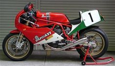 Habermann & Sons Classic Motorcycles and Ducati 750, Moto Ducati, Ducati Motorcycles, Moto Guzzi, Kawasaki Cafe Racer, Ducati Cafe Racer, Cafe Racers, Ducati Pantah, Ducati Supersport