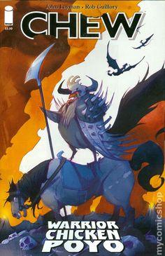 Chew Warrior Chicken Poyo (2014) 1A Image Comics book covers Modern Age