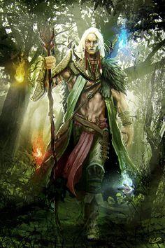 Cyfar  Elfo Selvagem Druida