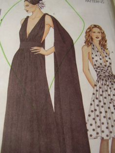 Vogue 7521 Dress Sewing Pattern Size141618 Bust 36 by TheLastPixie, $16.50