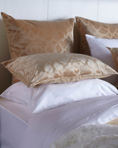 Create a blissful bedroom with our rich + indulgent bedding. 15% off through 6/22.