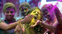 How To Take Care Of Your Skin & Hair During Holi - Shòngruff