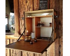 Outdoor Bar at Inn Paradiso in Paso Robles Rustic French Country, Modern Rustic, Garden Spaces, Terrace Garden, Table D Hote, Backyard Bar, Getaway Cabins, Home Decor Inspiration, Ideal Home