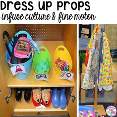 Tips & tricks to set up your dramatic play center in your preschool, pre-k, and kindergarten classroom. Preschool Centers, Kindergarten Classroom, Preschool Activities, Preschool Learning, Dramatic Play Area, Dramatic Play Centers, Play Based Learning, Learning Centers, Early Learning