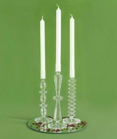 I'm old school. I like candlesticks.