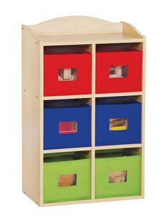 6-Section Bin Cubby by Guidecraft at Gilt