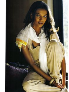 Can i wake up and just BE Liya Kebede?  Italian Elle, one of my most favorite editorial spreads with Model Liya Kebede