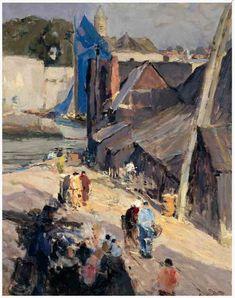 Concarneau et ses Peintres-peintres Français - Doigneau EdouardIl s'agit en fait d'Emile Simon