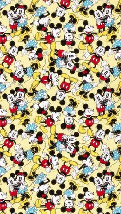 Minnie mouse fabric disney fabric fabric material by fabricmason Arte Do Mickey Mouse, Mickey Mouse Fabric, Mickey Mouse Wallpaper, Disney Fabric, Disney Phone Wallpaper, Mickey Mouse And Friends, Disney Mickey Mouse, Cartoon Wallpaper, Iphone Wallpaper