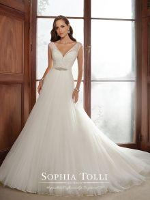 Sophia Tolli gown