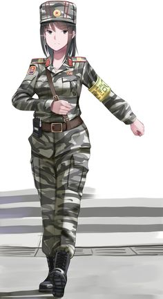 Anime Military, Military Girl, Comic Pictures, Manga Pictures, Awesome Anime, Anime Love, Manga Art, Anime Art, Military Archives