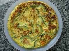 Receita Entrada : Tortilha de courgette (na bimby) de 100gluten