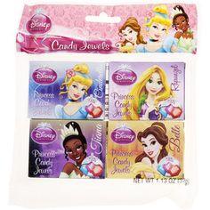 Disney Princess Party Candy Boxes, 4pk