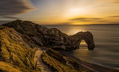 Durdle Door, Dorset - Spectacular Sunset Shot for a Sunday